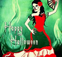 happy halloween spanish dancer by maydaze