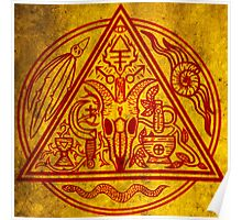 Witchfather sigil Poster