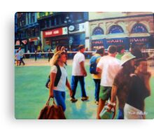 Piccadilly Street Scene 2 Metal Print