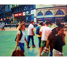 Piccadilly Street Scene 2 Photographic Print