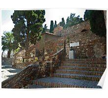 Alcazaba de Malaga Poster