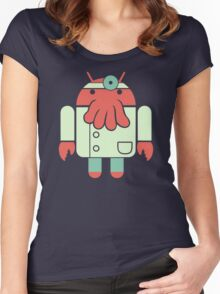 Droidberg Women's Fitted Scoop T-Shirt