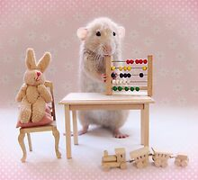 Poppy learning to count! by Ellen van Deelen