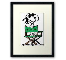 Snoopy Movie Framed Print