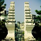 east java islamic traditional gate indonesia by PutroGraph