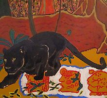 Jaguar Mayan Glyphs by David Olson