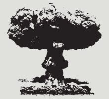 Nuclear explosion by saturdaytees