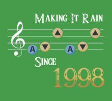 Legend of Zelda Ocarina of Time: Making It Rain Since 1998 by Liam Hole