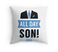 All Day Son Schmidt Tshirt | New Girl T-Shirt Tee Nick Miller Cece Winston Jess TV Quote Meme Gift Him Her douchebag jar Schmidt Happens uk Throw Pillow