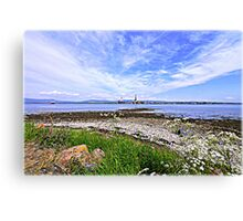 Rigs, Cromarty Firth Canvas Print