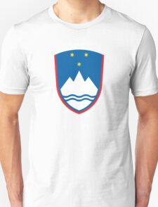 Coat of Arms of Slovenia  Unisex T-Shirt