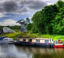 The Forth and Clyde Canal by Tom Gomez