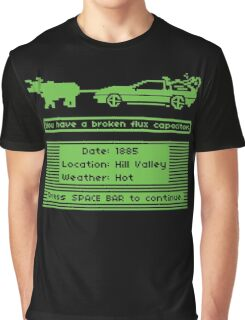 The Delorean Trail Graphic T-Shirt