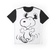 Happy Snoopy Graphic T-Shirt