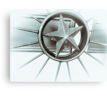 Star Wheel Metal Print