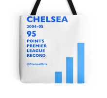 95 Points Premier League Record - Chelsea 2004/05 Tote Bag