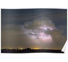 Cumulonimbus Cloud Explosion Poster