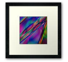 Digital art, multicoloured Framed Print