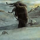 Kveikur - The Ice Giant Walks by Adam Howie