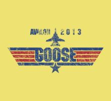 Custom Top Gun Style - Avalon Goose One Piece - Short Sleeve