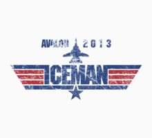 Custom Top Gun Style - Avalon Iceman One Piece - Long Sleeve