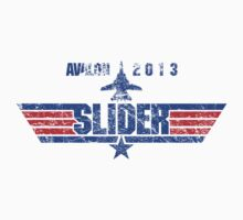 Custom Top Gun Style - Avalon Slider One Piece - Short Sleeve