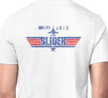 Custom Top Gun Style - Avalon Slider Unisex T-Shirt
