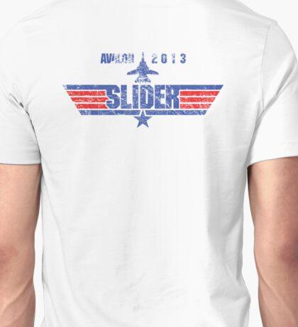 Custom Top Gun Style - Avalon Slider Unisex T-Shirt