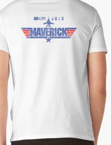 Custom Top Gun Style - Avalon Maverick Mens V-Neck T-Shirt