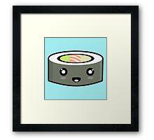 Kawaii Sushi Framed Print