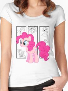 Pinkie Pie Tee Women's Fitted Scoop T-Shirt