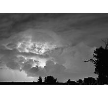 Light Show Black and White Photographic Print