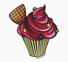 Pink Cupcake by Madame Bizarre