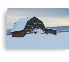 Old Barn - British Columbia Canada Canvas Print