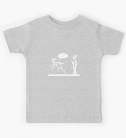 """You Complete Me"" Deinonychus and Paleontologist Toon Kids Clothes"