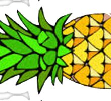 Three Pinapples Sticker