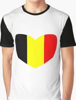Love Belgium Graphic T-Shirt