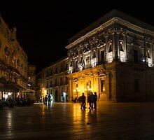 The magical Duomo Square in Ortygia, Syracuse, Sicily by Georgia Mizuleva