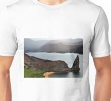 View From Bartolome Peak in the Galapagos Islands Unisex T-Shirt