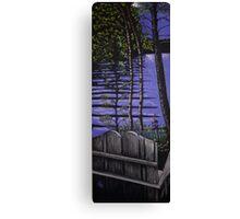 Balsam Lake Viewpoint Canvas Print
