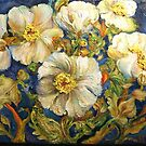 Poppies Crowd My Vase by Barbara Sparhawk
