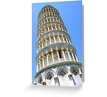 Teetering Tower... Greeting Card