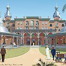 The Tampa Bay Hotel circa 1900 by contourcreative