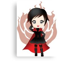 Chibi Ruby Rose Canvas Print