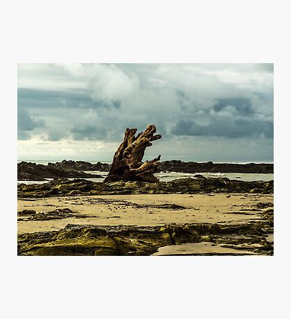 Abandoned Beach Photographic Print