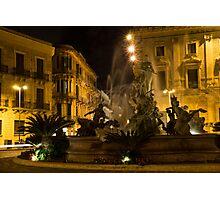 Diana Fountain -  Syracuse, Sicily Photographic Print