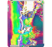 photographic experimental psychedelic smoothness inverted iPad Case/Skin