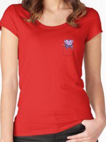 Pocket Riki   Dota 2 Women's Fitted Scoop T-Shirt