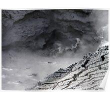 ~ Churning Hot Water at Yellowstone ~ Poster