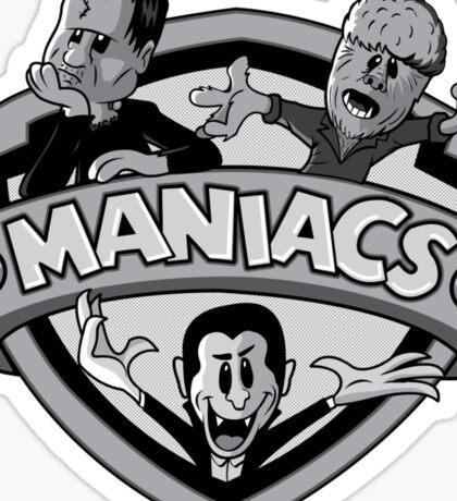 Universal Maniacs Sticker